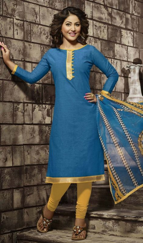 Anarkali Churidar Frocks-Shalwar-Kameez Latest Outfits-Suits by Kaneesha-10