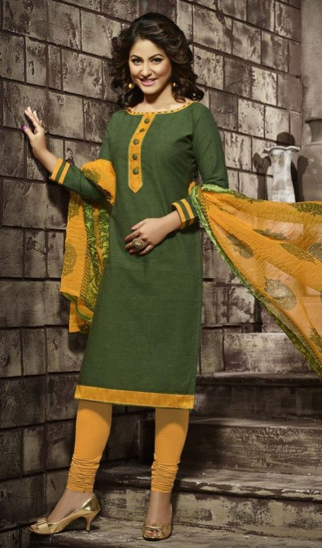 Anarkali Churidar Frocks-Shalwar-Kameez Latest Outfits-Suits by Kaneesha-3