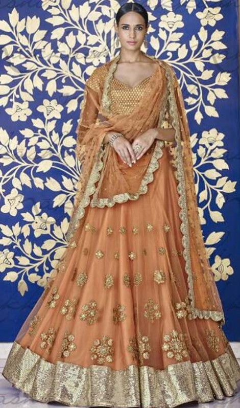 Bridal-Wedding Brides-Dulhan Wear  Lehanga-Choli-Sharara Designs by Fashion Dress Designer Kaneesha-10