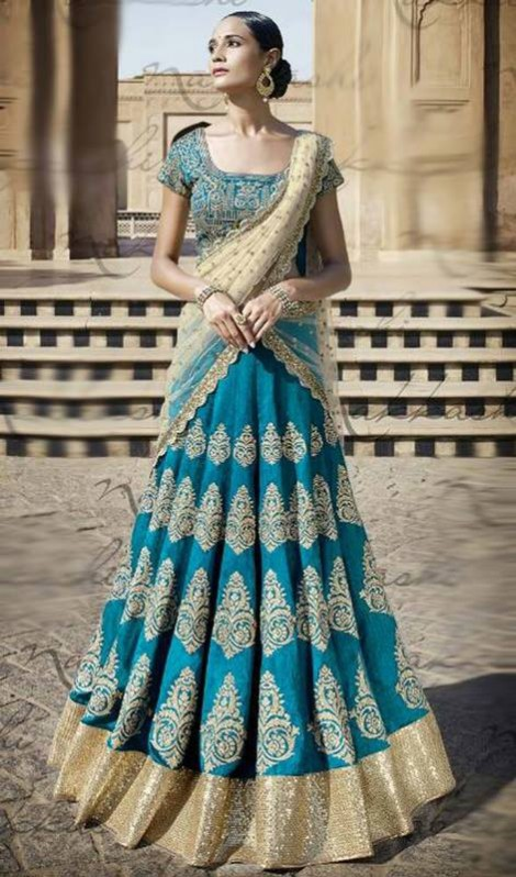 Bridal-Wedding Brides-Dulhan Wear  Lehanga-Choli-Sharara Designs by Fashion Dress Designer Kaneesha-3