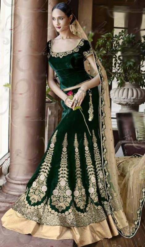 Bridal-Wedding Brides-Dulhan Wear  Lehanga-Choli-Sharara Designs by Fashion Dress Designer Kaneesha-8