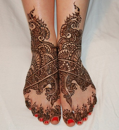 Bridal-Wedding Mehndi Designs for Full Hands-Feet Front and Back Latest Fashion Mehendi-13