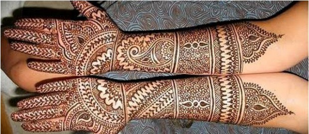 Bridal-Wedding Mehndi Designs for Full Hands-Feet Front and Back Latest Fashion Mehendi-2