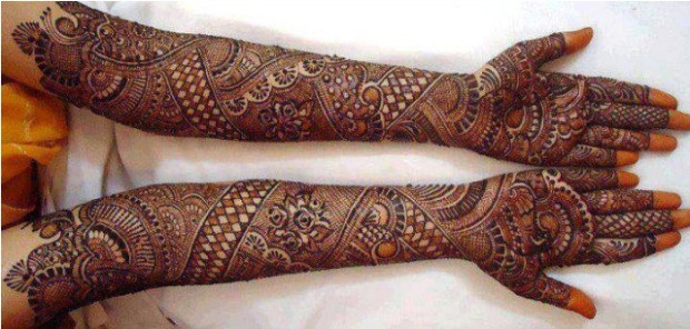 Bridal-Wedding Mehndi Designs for Full Hands-Feet Front and Back Latest Fashion Mehendi-3