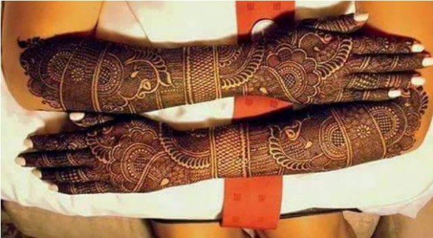 Bridal-Wedding Mehndi Designs for Full Hands-Feet Front and Back Latest Fashion Mehendi-9