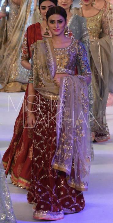 Bridal-Wedding Wear Latest Marvelous Dresses by Fashion Designer Misha Lakhani-9