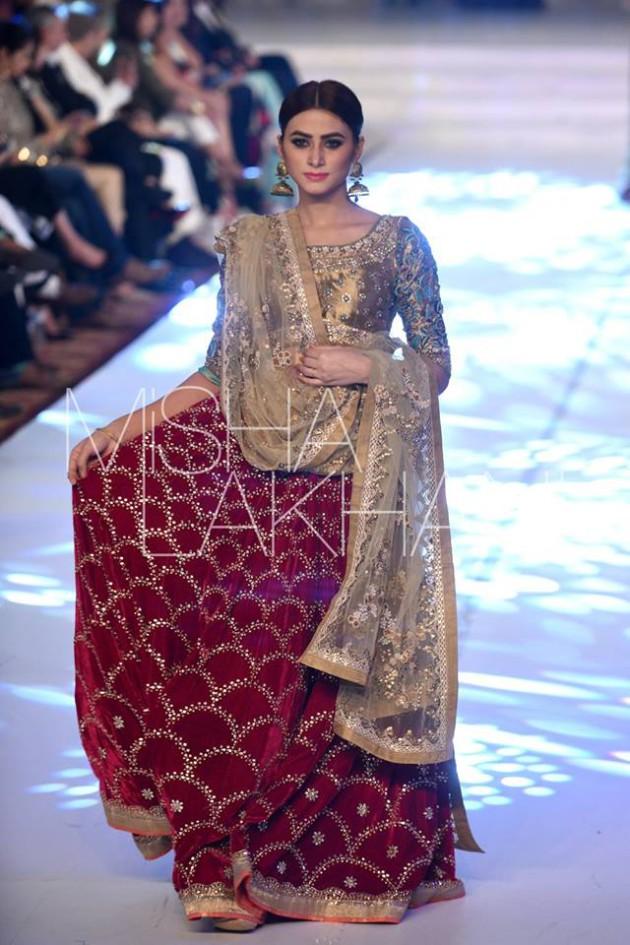 Bridal-Wedding Wear Latest Marvelous Dresses 2016 by Fashion Designer Misha Lakhani-
