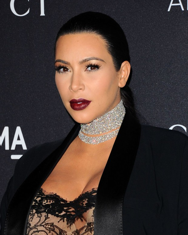 Kim Kardashian at Lacma Art Film Gala Honoring James Turrell and Alejandro G Inarritu in Los Angeles Pictures-2