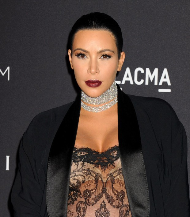 Kim Kardashian at Lacma Art Film Gala Honoring James Turrell and Alejandro G Inarritu in Los Angeles Pictures-