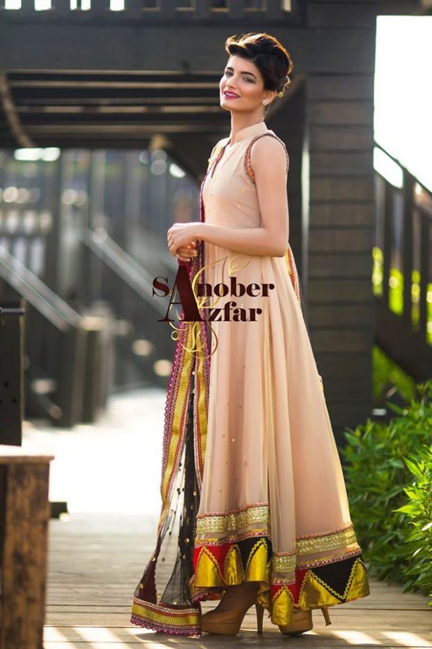 Latest Fashion Dress Designer Sanober Azfar Formal Girls-Women Wear Outfits-10