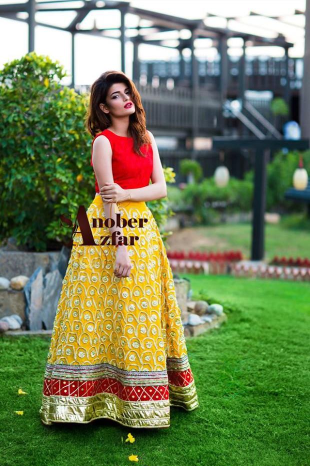 Latest Fashion Dress Designer Sanober Azfar Formal Girls-Women Wear Outfits-3