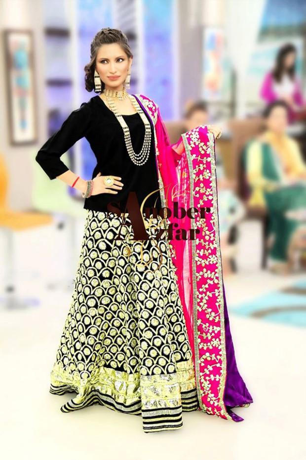Latest Fashion Dress Designer Sanober Azfar Formal Girls-Women Wear Outfits-5