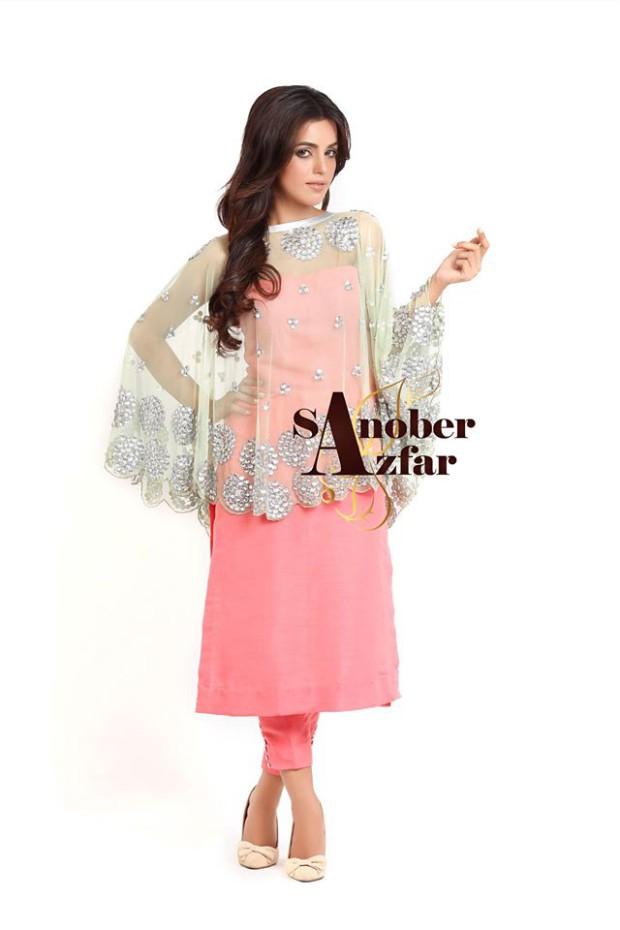 Latest Fashion Dress Designer Sanober Azfar Formal Girls-Women Wear Outfits-6