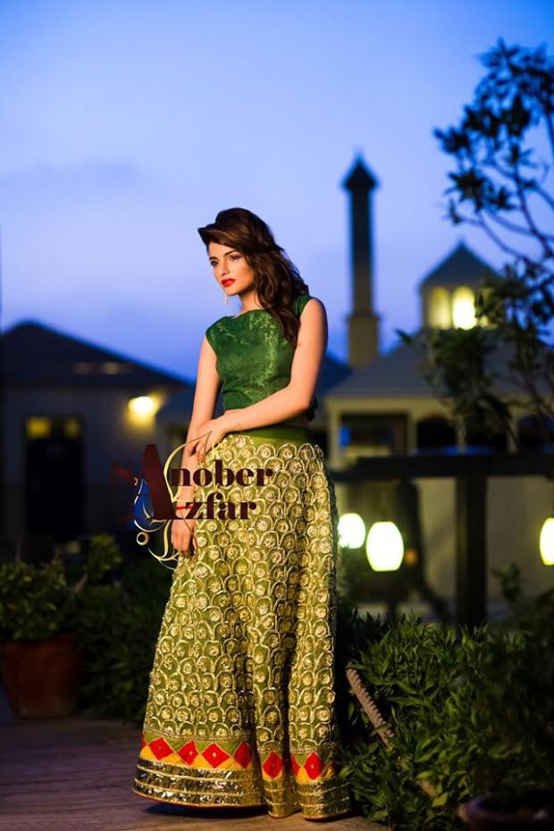 Latest Fashion Dress Designer Sanober Azfar Formal Girls-Women Wear Outfits-7