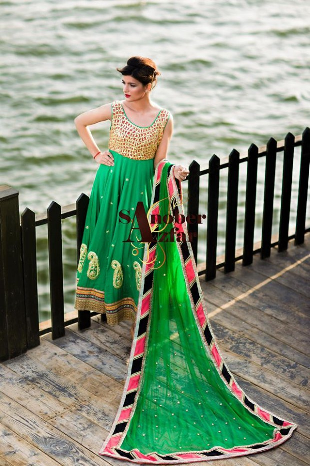 Latest Fashion Dress Designer Sanober Azfar Formal Girls-Women Wear Outfits-8