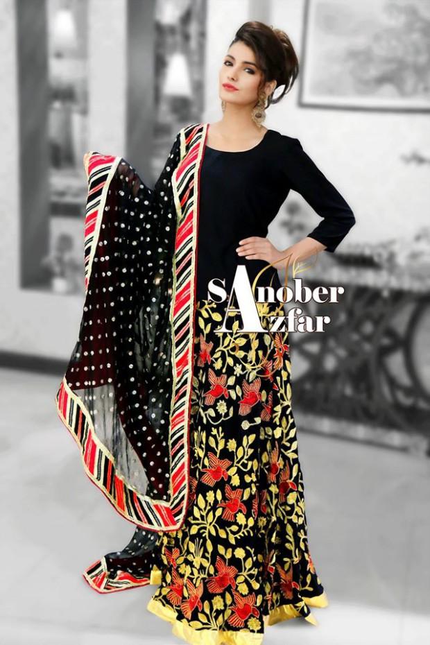Latest Fashion Dress Designer Sanober Azfar Formal Girls-Women Wear Outfits-9