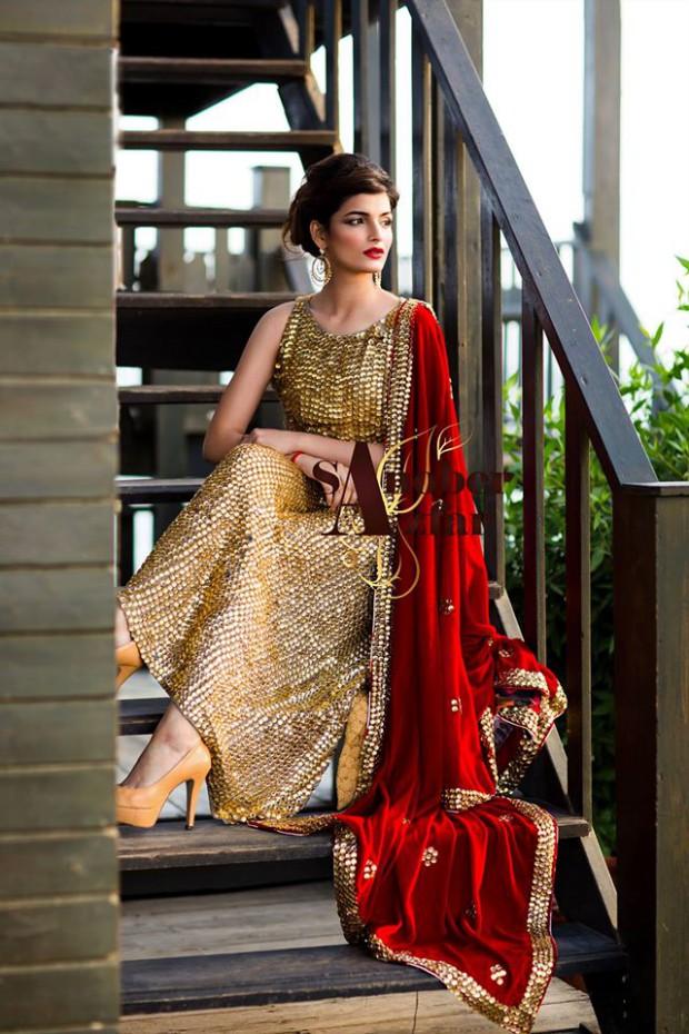 Latest Fashion Dress Designer Sanober Azfar Formal Girls-Women Wear Outfits-