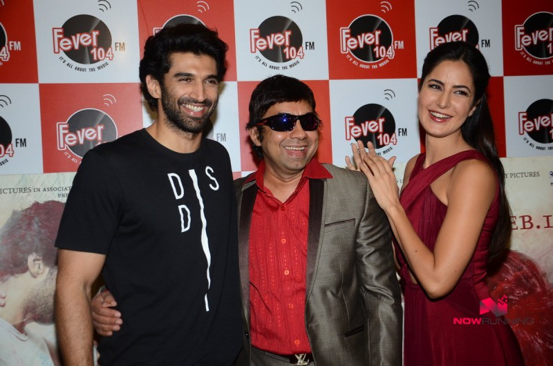 Katrina Kaif,Aditya and Abhishek Kapoor Promote Fitoor on Radio HD-HQ Wallpapers-2