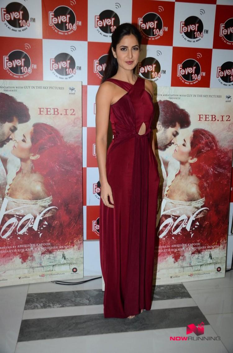 Katrina Kaif,Aditya and Abhishek Kapoor Promote Fitoor on Radio HD-HQ Wallpapers-3