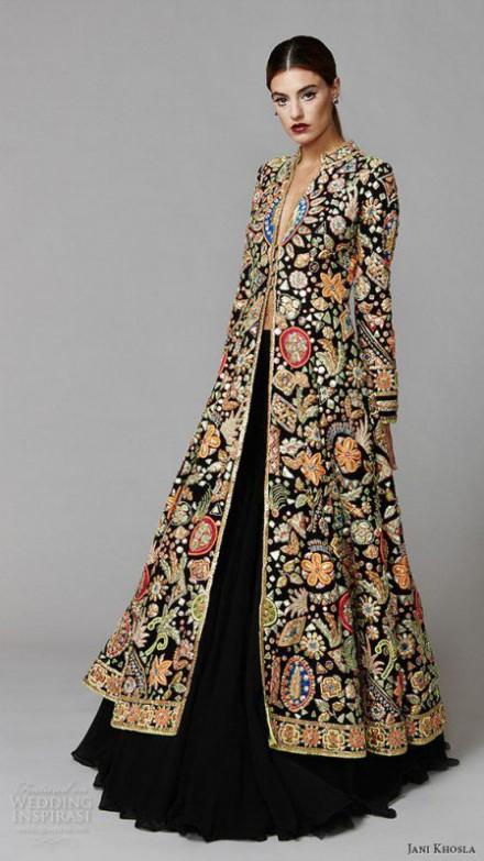 Bridal-Wedding Wear Velvet Fancy Suits Latest Fashionable Dresses Trend for Brides-Dulhan-9