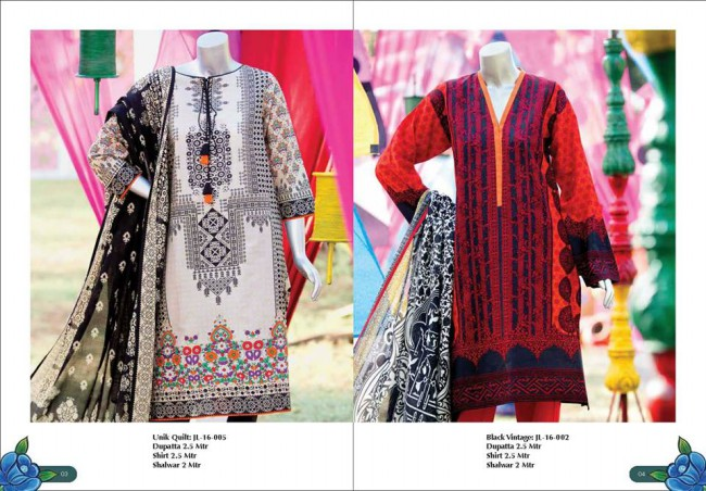 Junaid Jamshed Winter Wear Latest Colorful-Printed Dress Design Collection-6