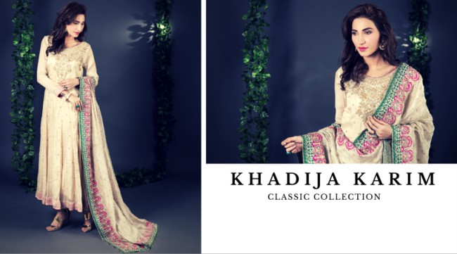 Latest Classic Wedding-Bridal Wear Dress by New Fashion Designer Khadija Karim-2