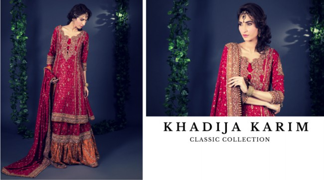Latest Classic Wedding-Bridal Wear Dress by New Fashion Designer Khadija Karim-3