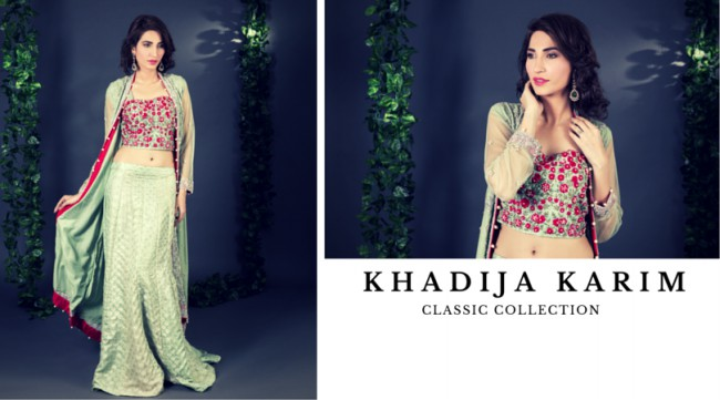 Latest Classic Wedding-Bridal Wear Dress by New Fashion Designer Khadija Karim-4