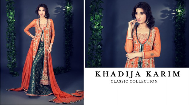 Latest Classic Wedding-Bridal Wear Dress by New Fashion Designer Khadija Karim-5