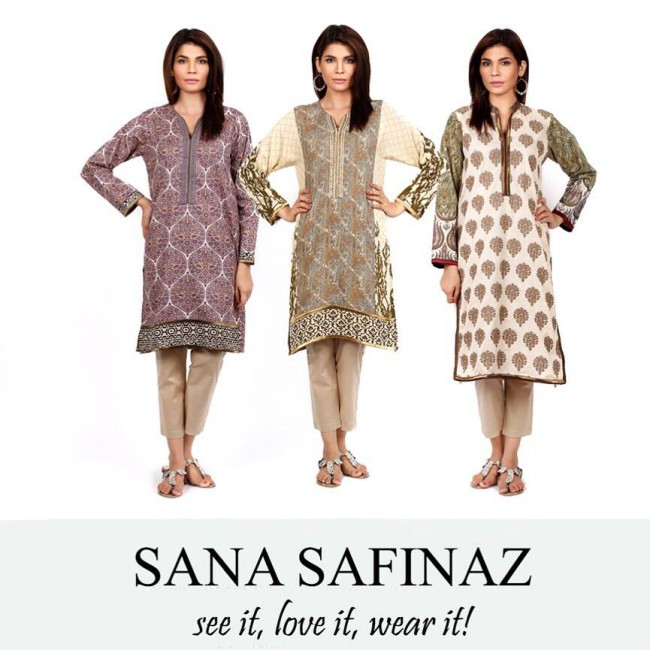 Latest Winter Wear Dresses For Girls-Womens New Fashion Style by Sana Safinaz-4