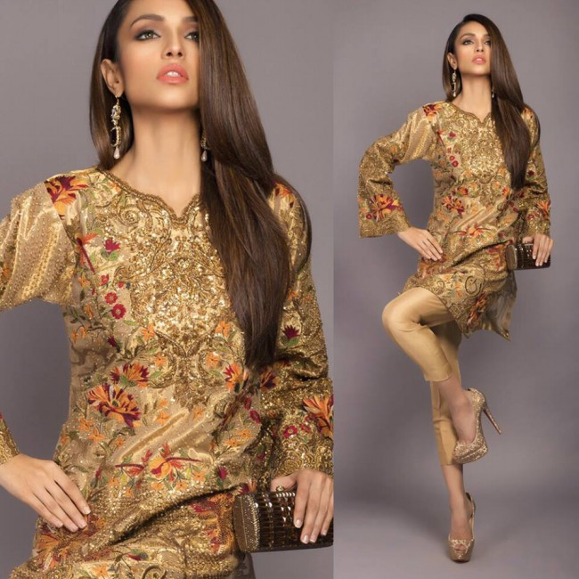 Latest Winter Wear Dresses For Girls-Womens New Fashion Style by Sana Safinaz-5