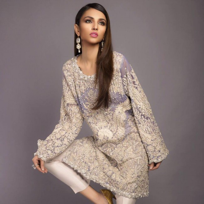 Latest Winter Wear Dresses For Girls-Womens New Fashion Style by Sana Safinaz-6