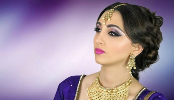 Asian Bridal Wedding Makeup Ideas for Modern Girls for Mehndi-Walima&Baraat Ceremony-6